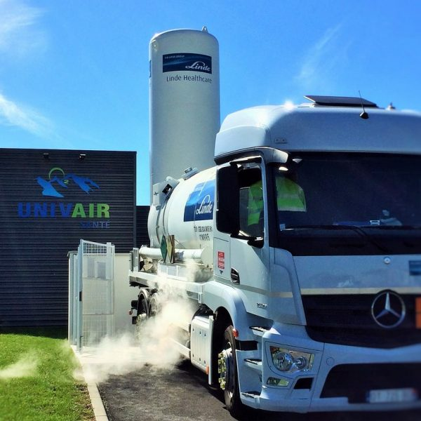 Camion d'Oxygène